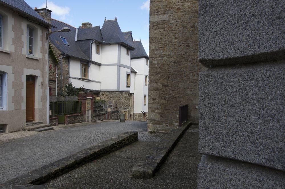 Passage vers la rue Pasteur, Lamballe