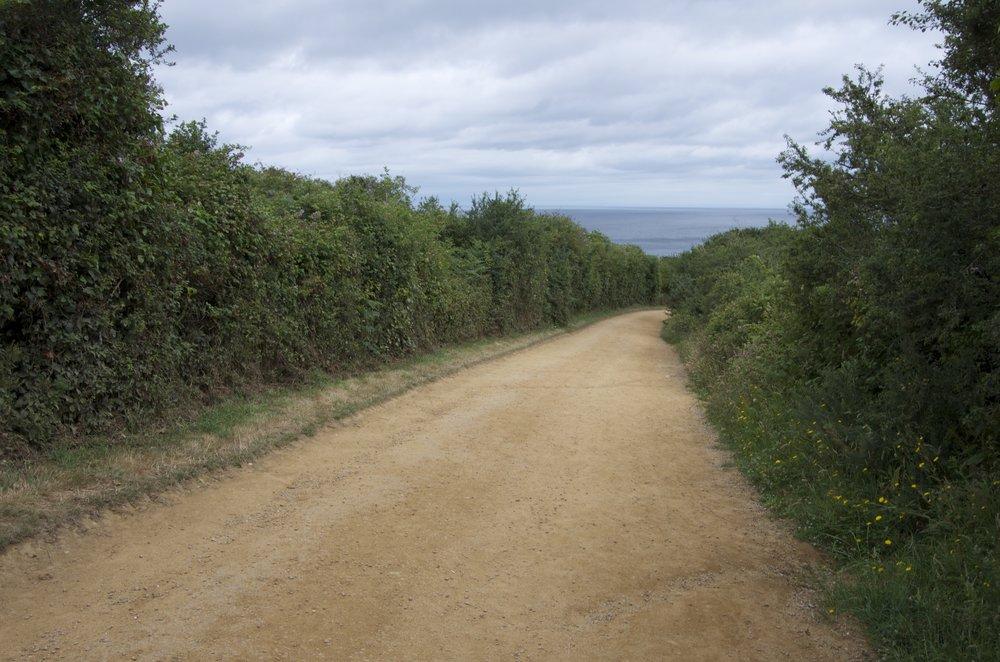 Sentier vers Fort la Latte