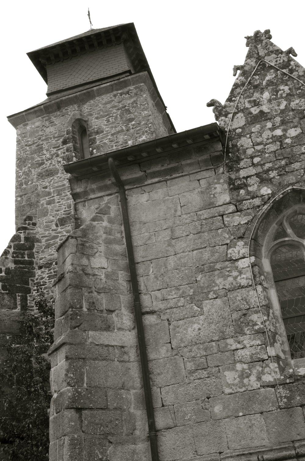 Église Saint-Gal, Langast