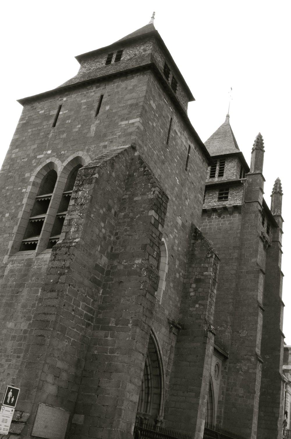 Cathédrale St-Étienne, St-Brieuc