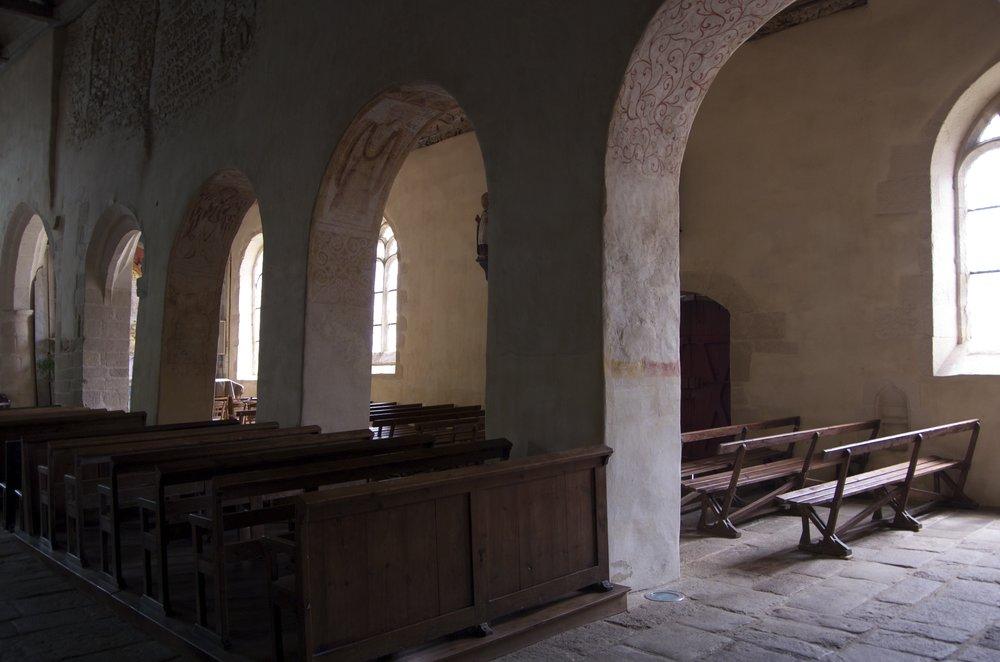 Sous les arches, église Saint-Gal, Langast, 2/2