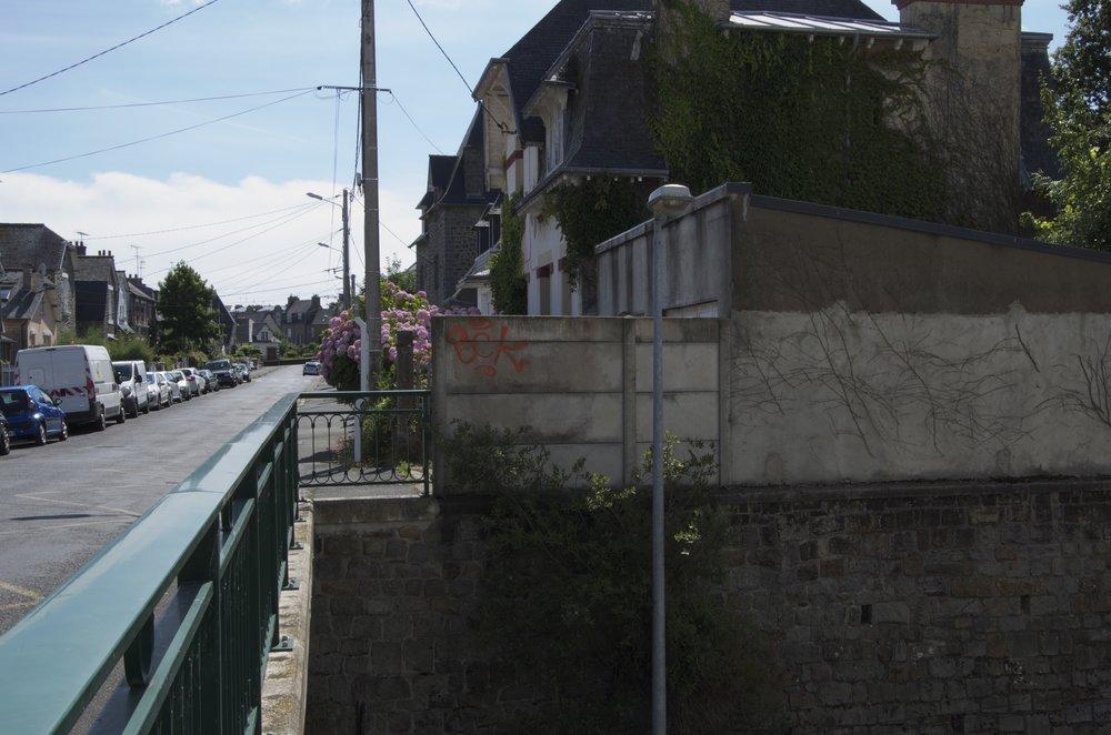 Du viaduc, rue Anatole-le-Braz, St-Brieuc