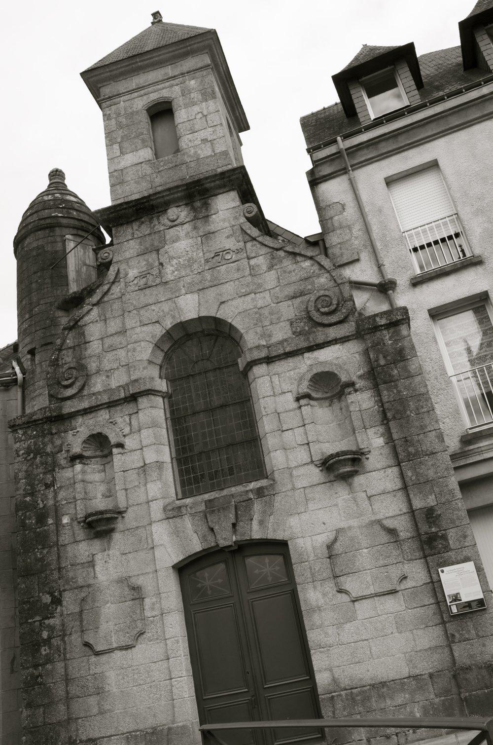 Chapelle St-Ivy, Place Anne-de-Bretagne, Pontivy