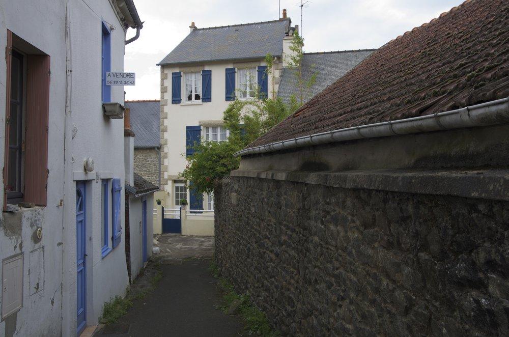 Maison au bout de la venelle, rue des Banches, St-Quay-Portrieux
