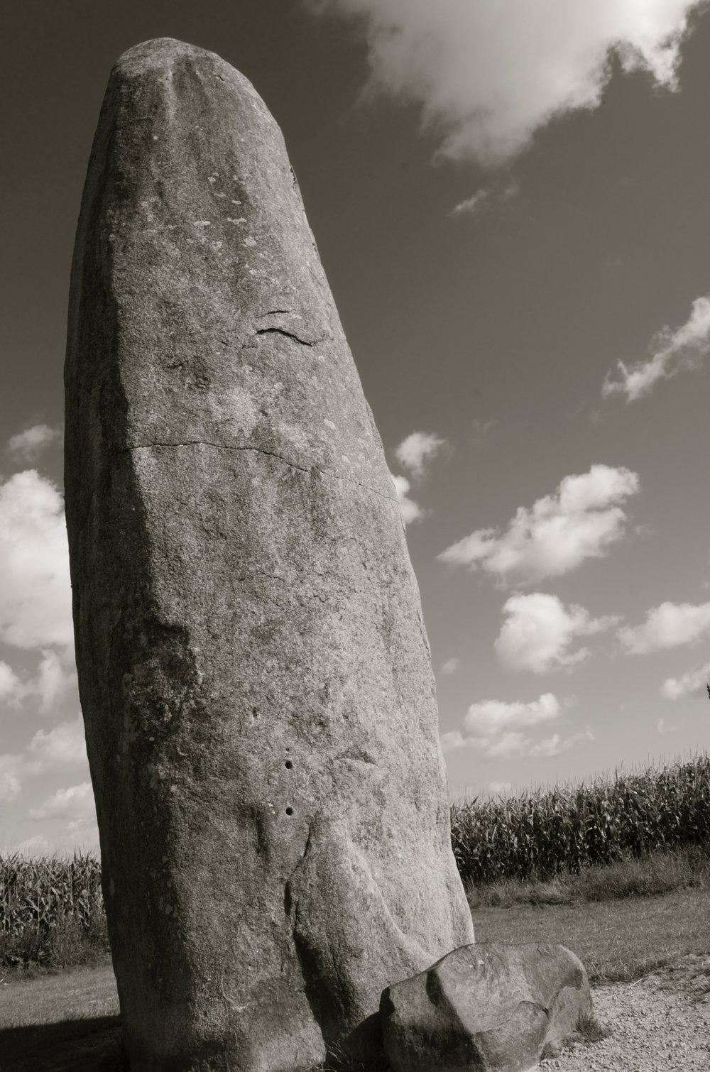 Menhir de Champ-Dolent, Dol-de-Bretagne