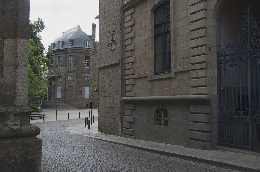Rue de la Préfecture, St-Brieuc