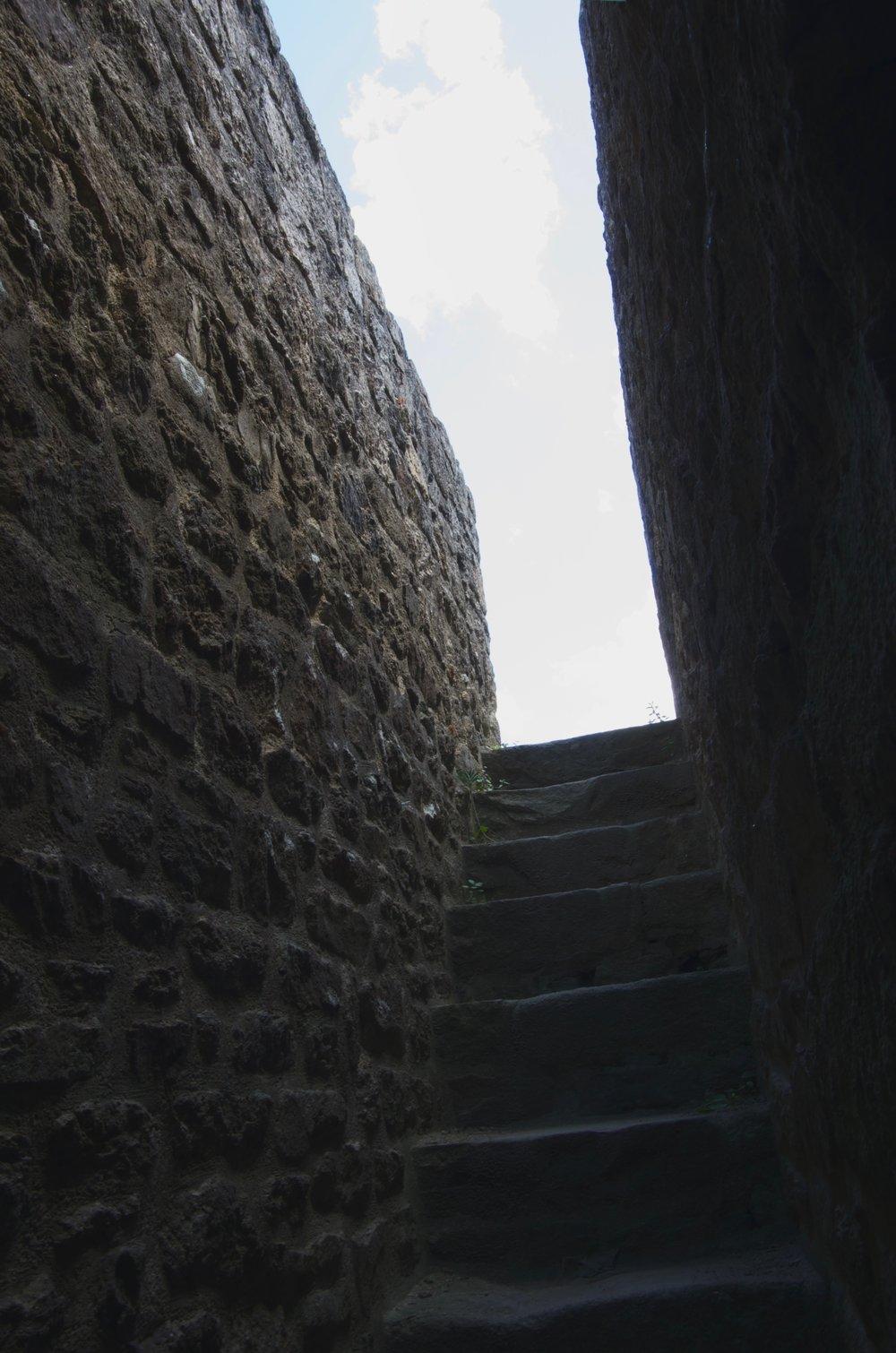 Escalier du mur d'enceinte, Dinan