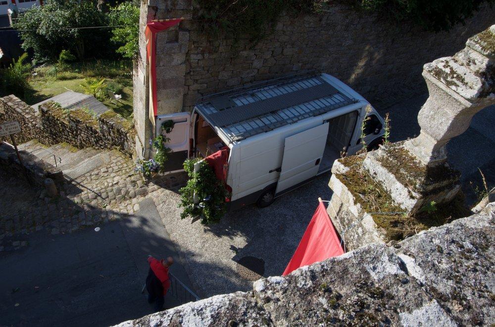Rue du Champ à Lavoir, Moncontour