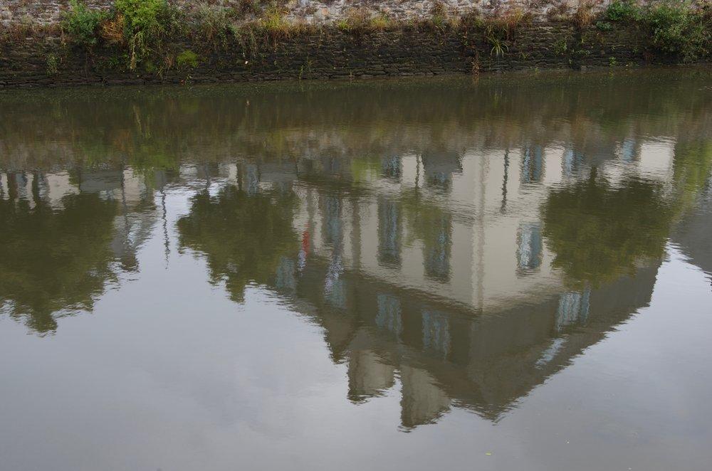 Reflets sur l'Élorn, Landerneau