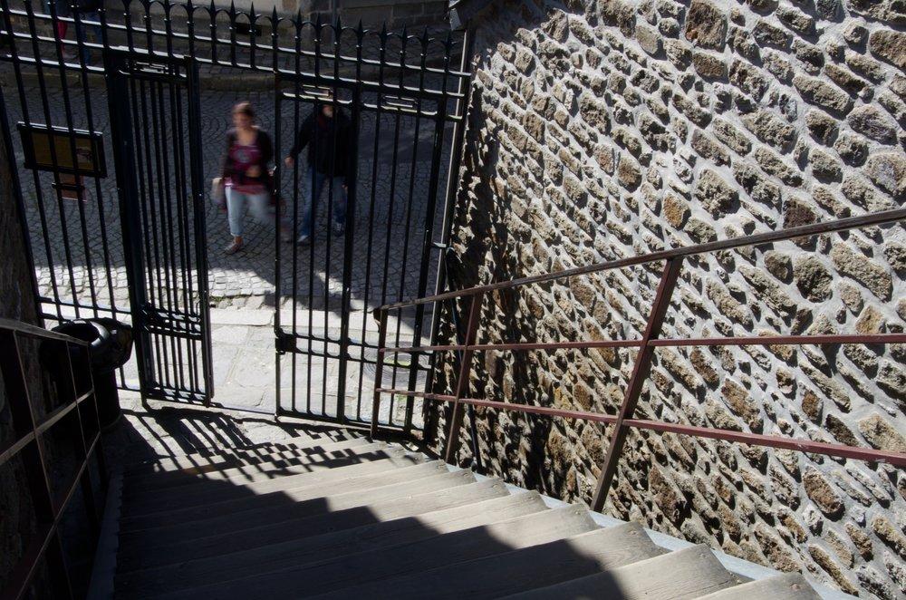 Escalier à la rue Michel, Dinan
