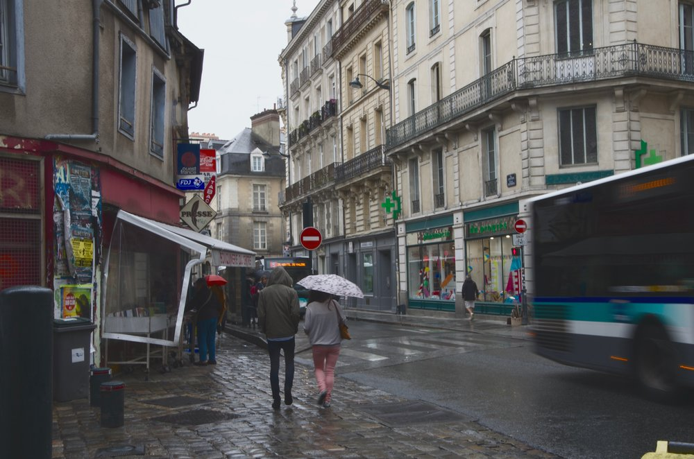 Rues St-Mélaine et d'Antrain, Rennes