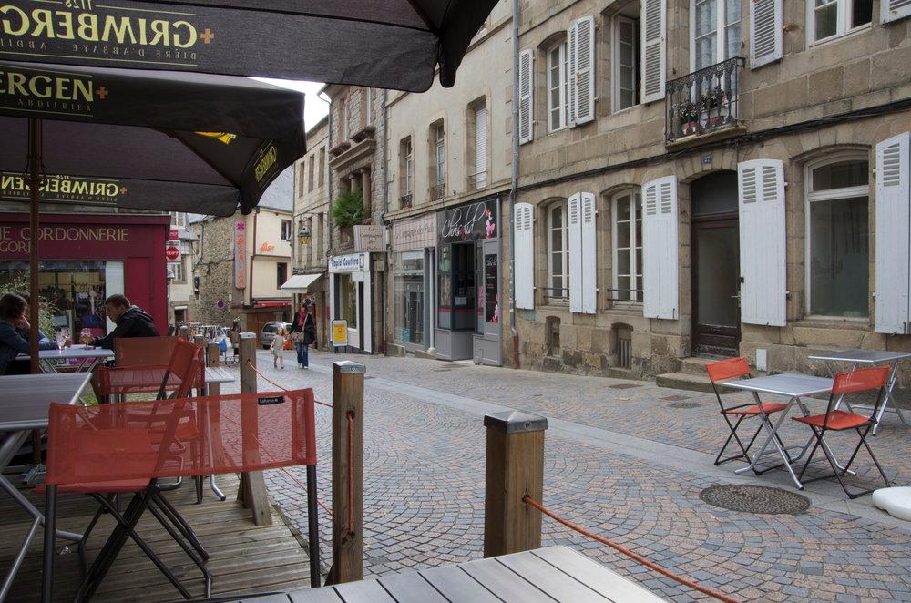 Rue des Chapeliers, Lannion
