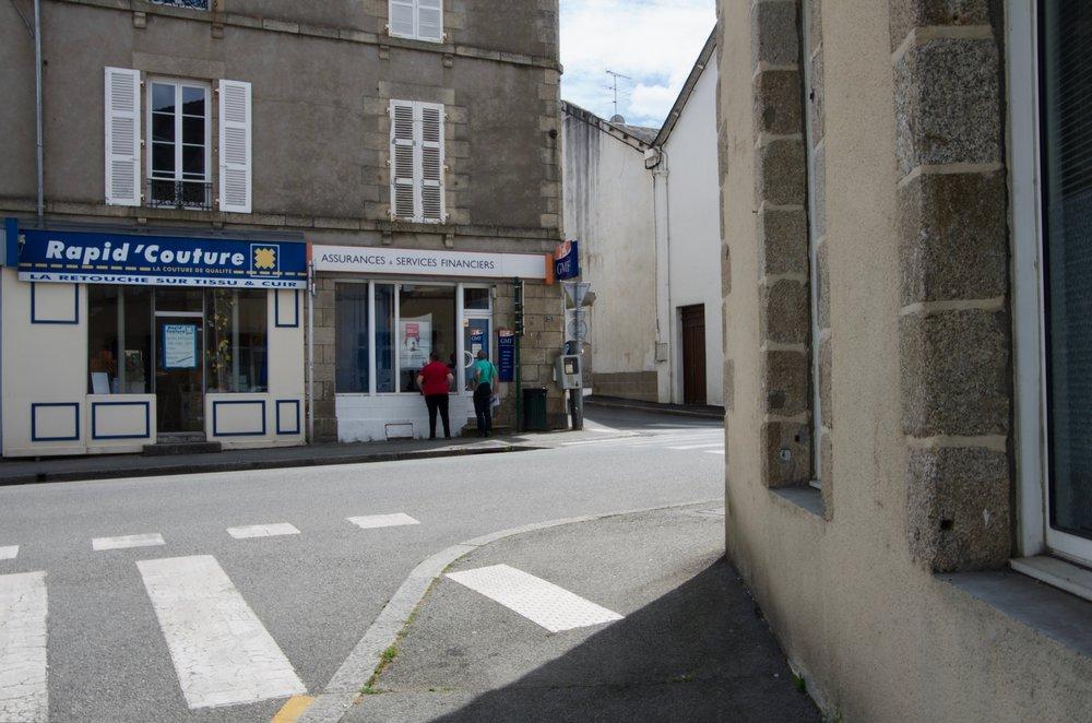 Rue du Couvent à la rue du Général de Gaule, Pontivy