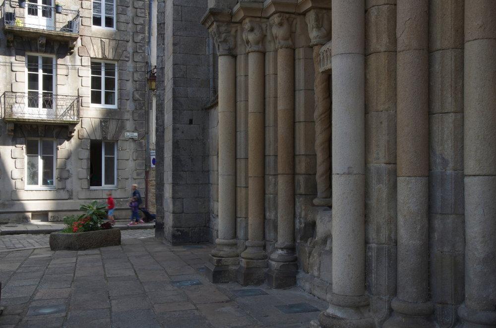 Place St-Sauveur, Dinan