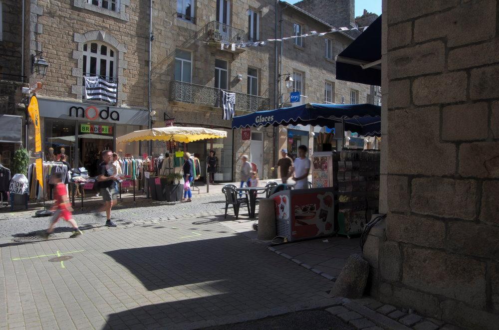 Rue Jean-le-Moal, à la rue Notre-Dame, Guingamp
