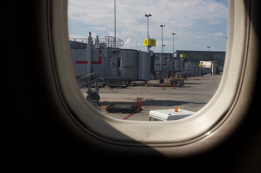 Hublot, aéroport Pierre-Elliott-Trudeau, Montréal