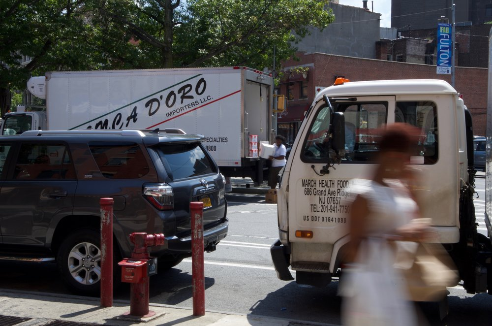 Deliveries, Lafayette Avenue, Brooklyn - NYC 1/2