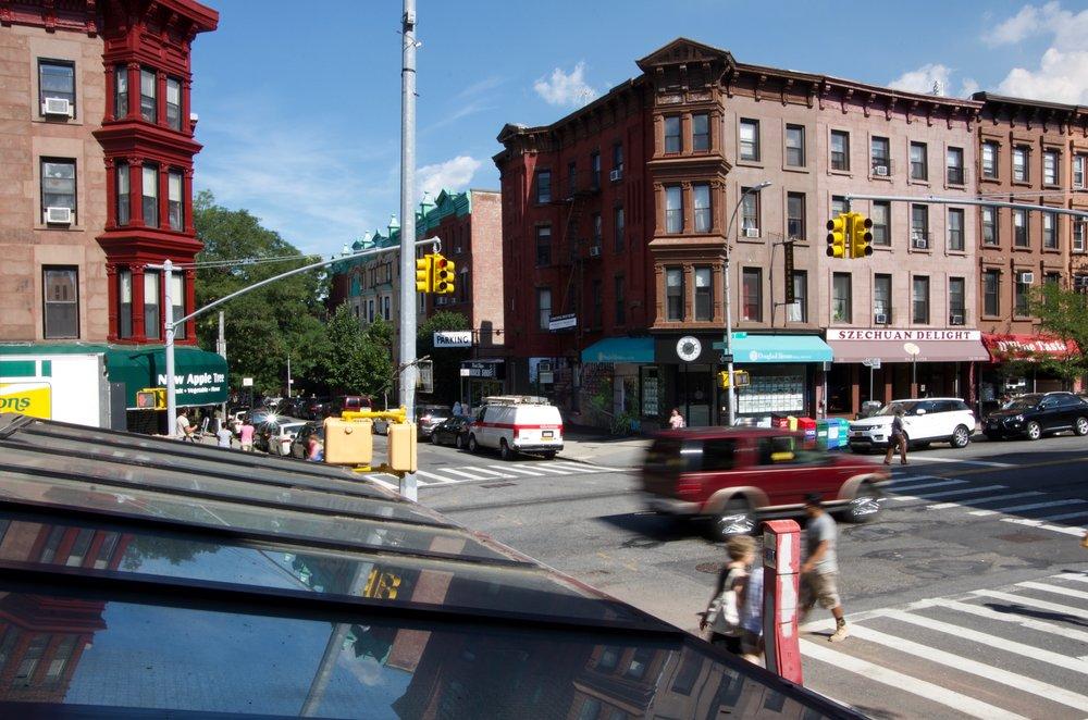 Crossing Garfield Place, 7th Avenue, Brooklyn - NYC