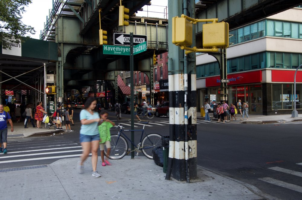 At Broadway and Havemeyer Street, Brooklyn - NYC