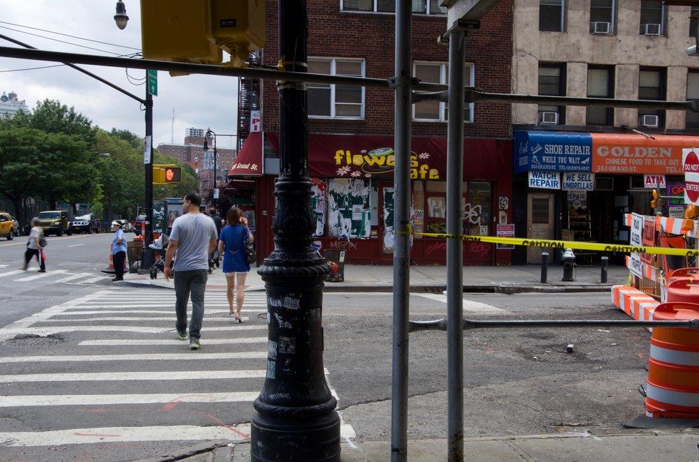 At Grand Street, Essex Street, Manhattan - NYC