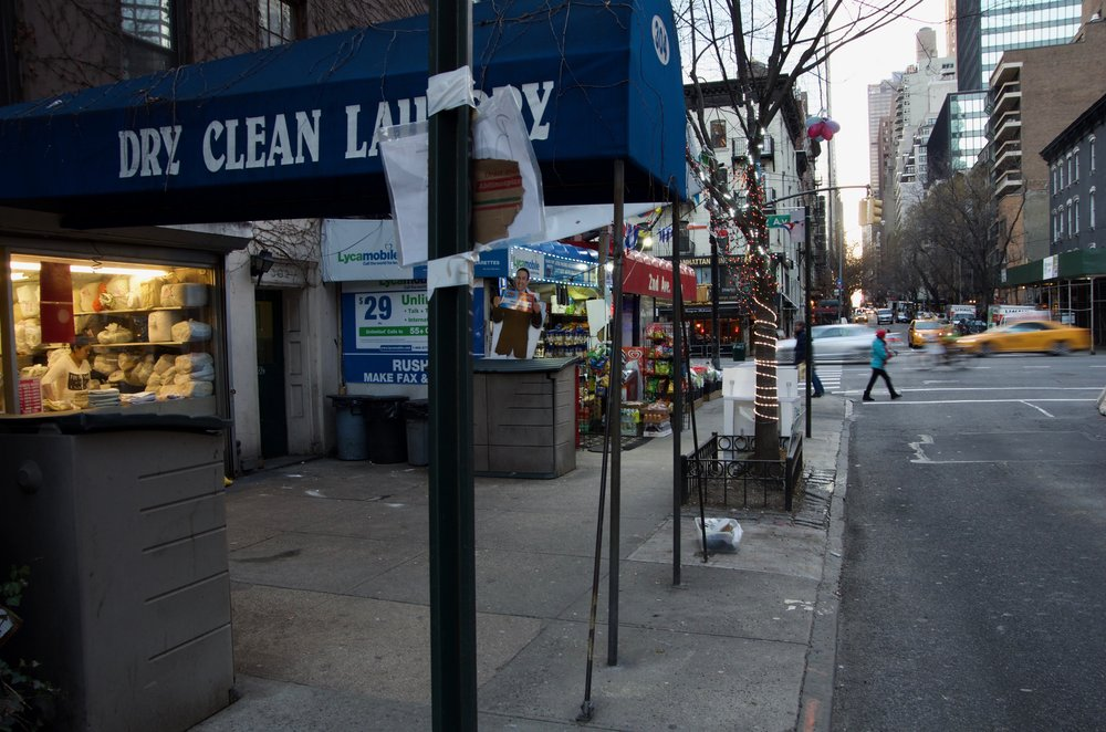 Dry Cleaner, East 50th Street, Manhattan - NYC