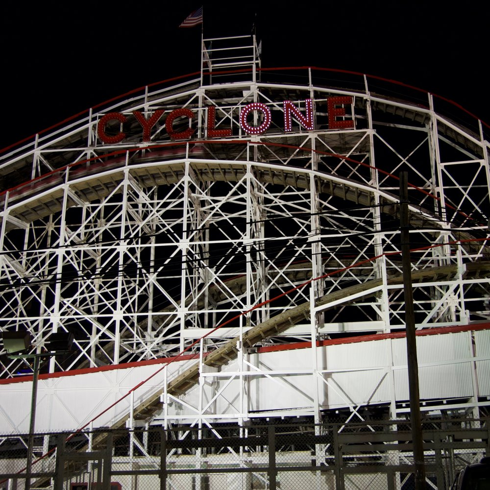 The Cyclone, Coney Island, Brooklyn