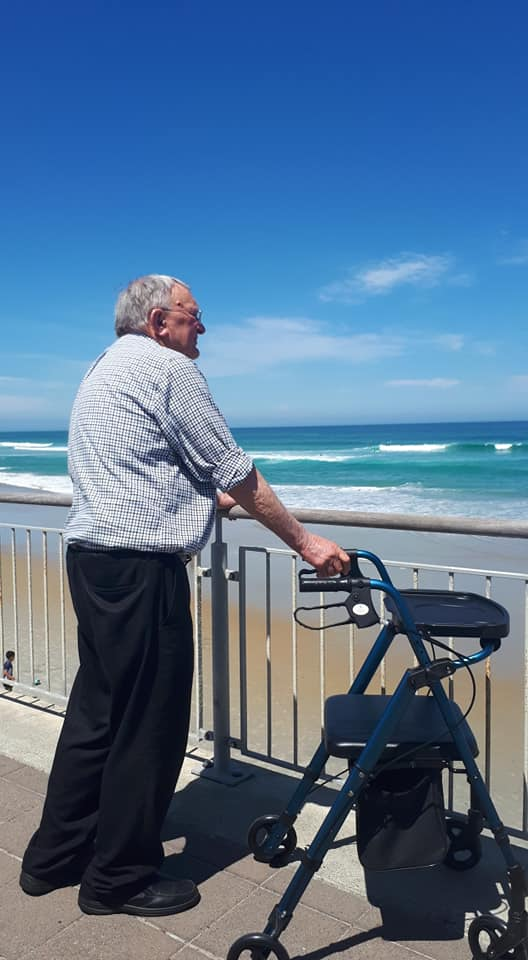 Dad, St. Clair, Dunedin