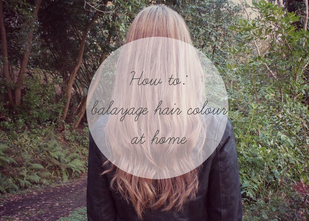 How to Balayage at home hollyreed