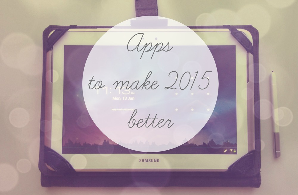 Apps to make 2015 better