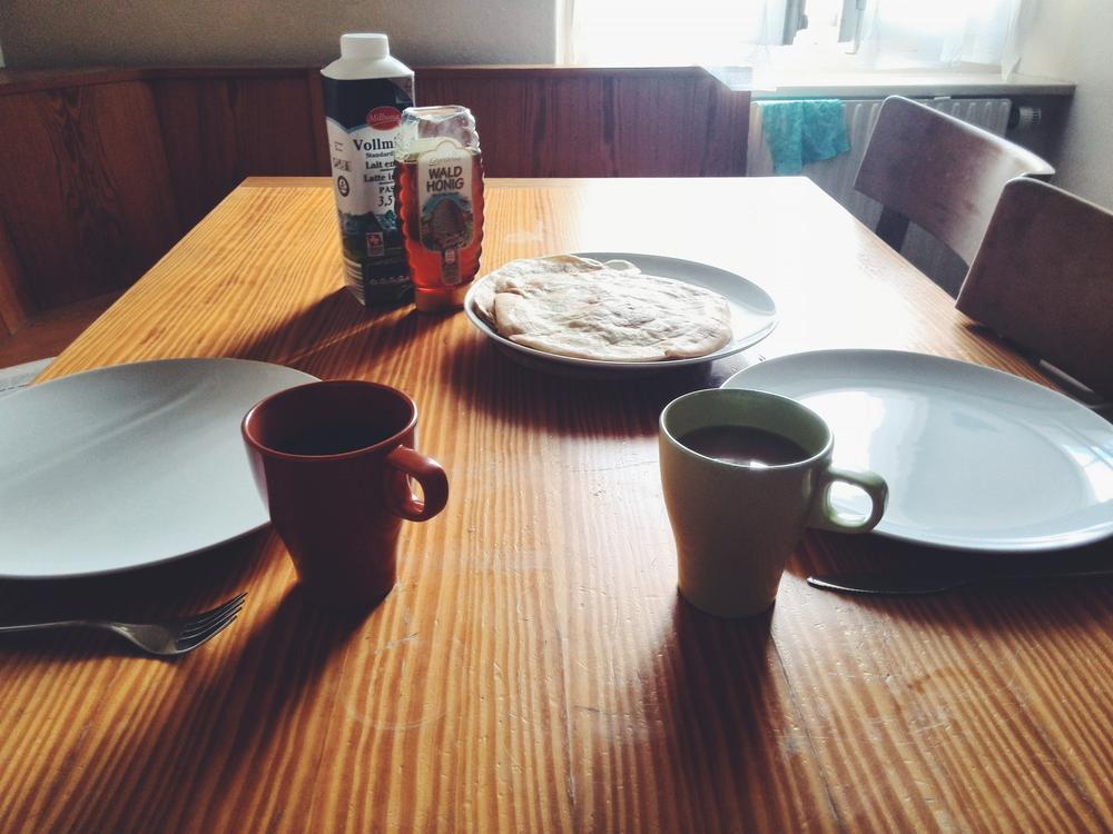 Lazy Sundays: Tea and pancakes