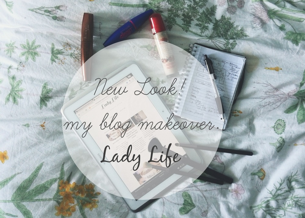 My blog makeover launch
