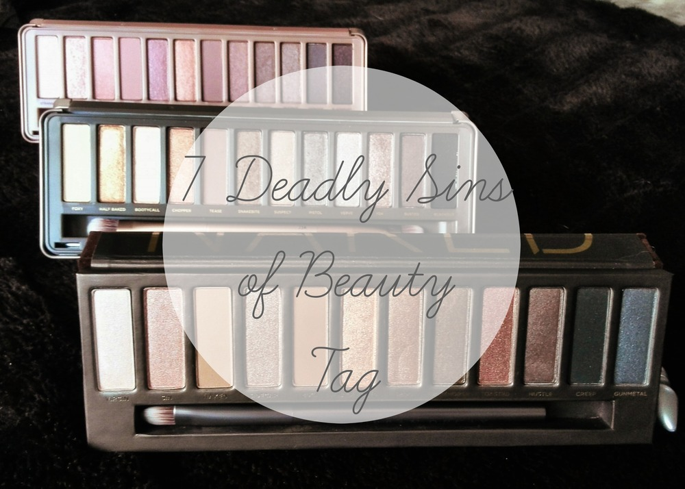 seven deadly sins of beauty tag
