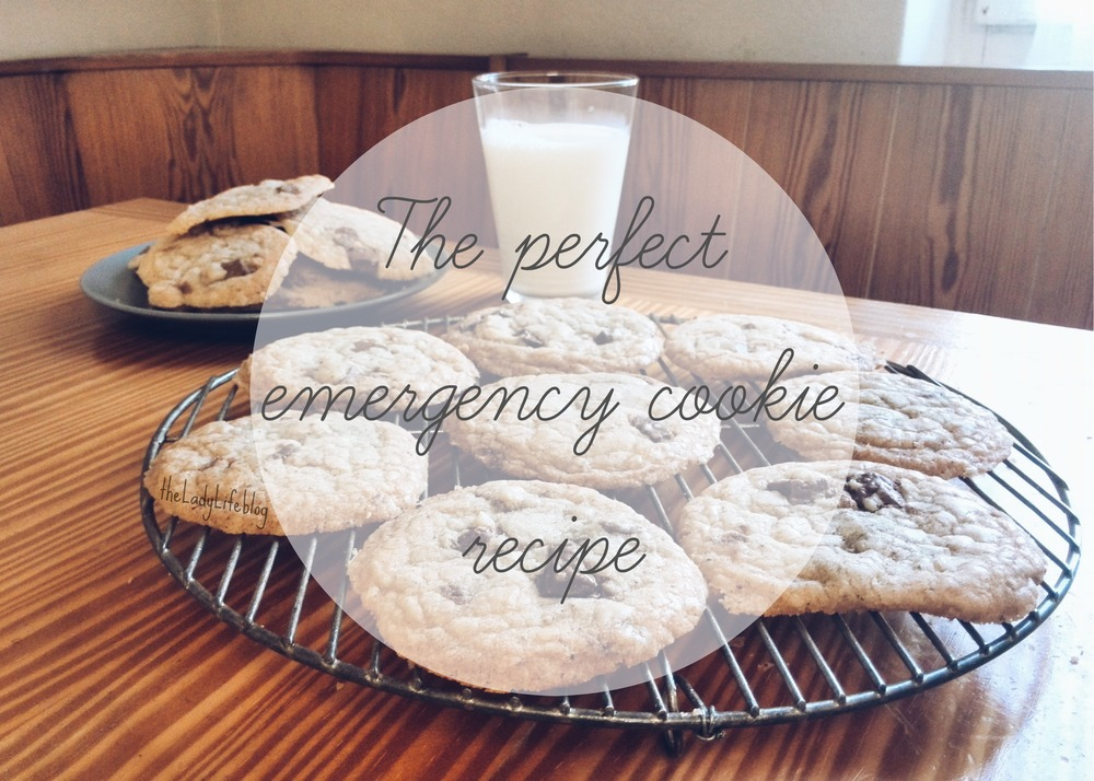 The perfect emergency cookie recipe