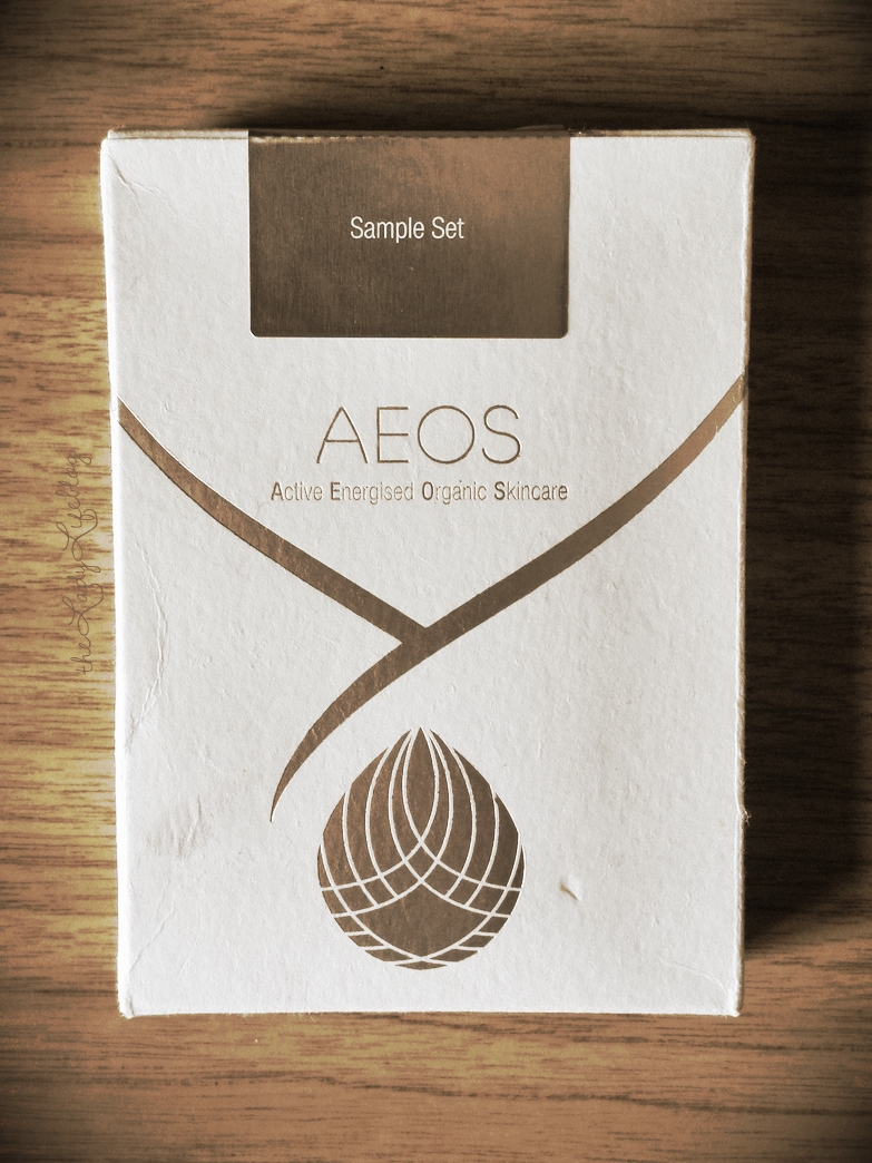 AEOS Skincare review Lady Life Holly Reed free sample