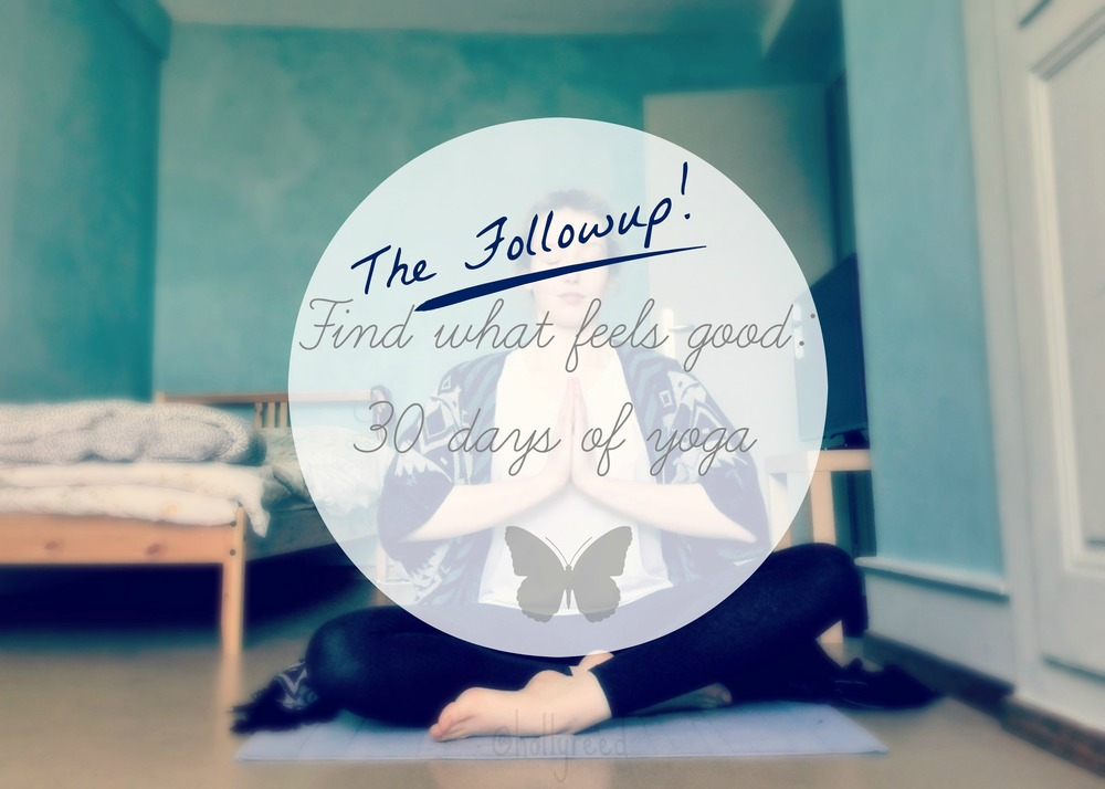 30 day fitness challenge: yoga with Adriene Update Final result