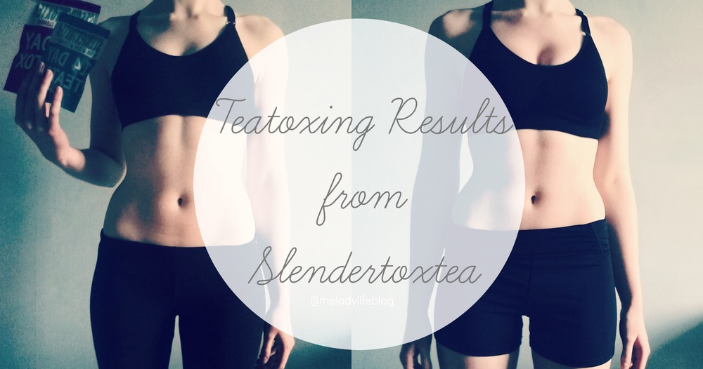 Slendertox Teatoxing results before and after review