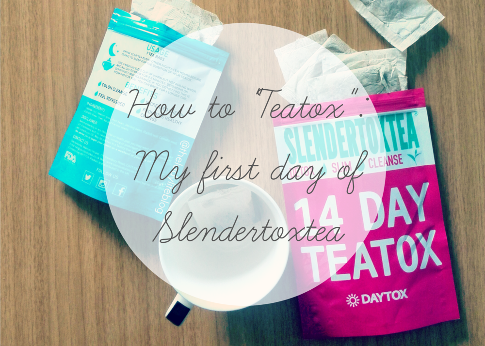 Find out how my first day on the Teatox went down, my diet plan and exercise routine all covered here.  Read more here .
