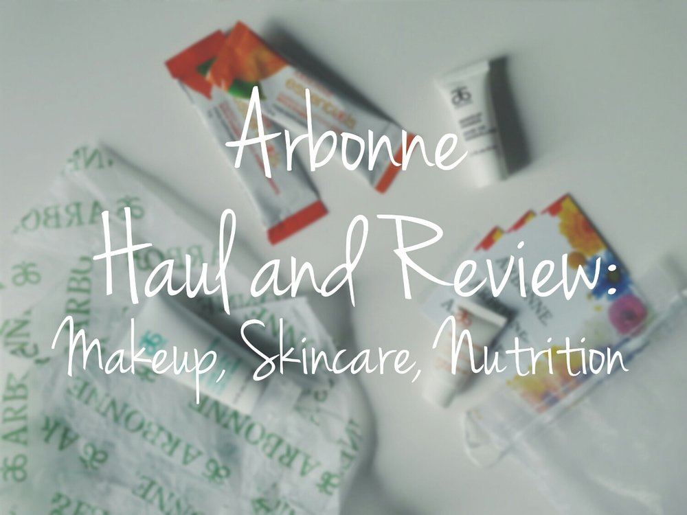 Huge Arbonne Haul and Review: Makeup, Skincare, Nutrition