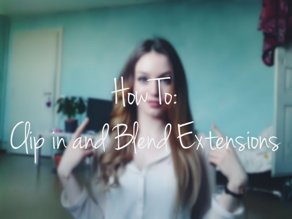 How to clip in and blend extensions