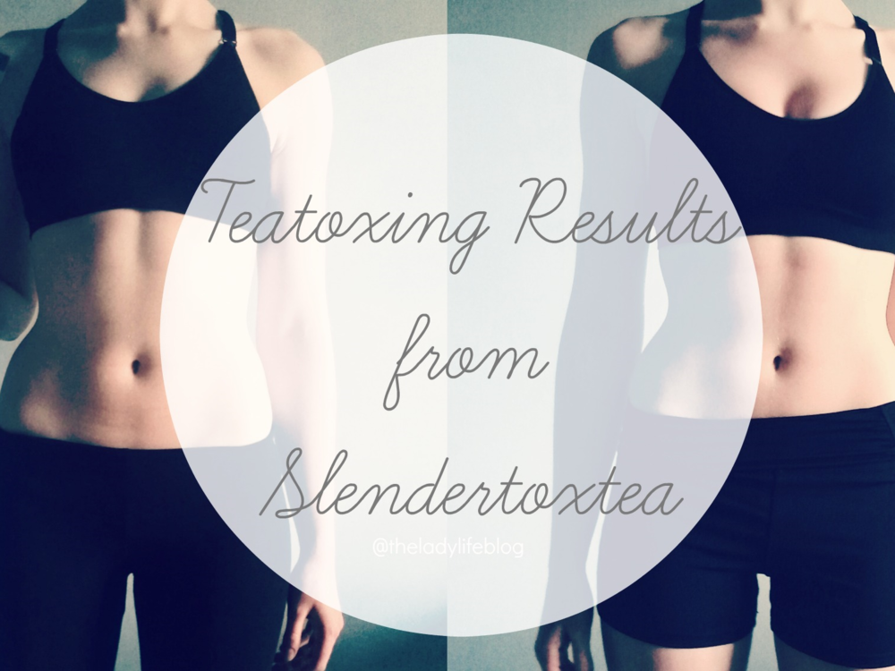 Teatox Slendertox tea results