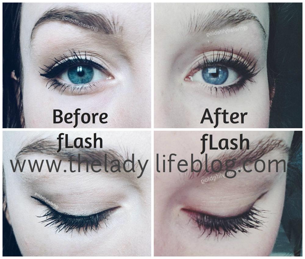 14b5c20ebbb fLash Eyelash Growth Serum Before and After — The Lady Life