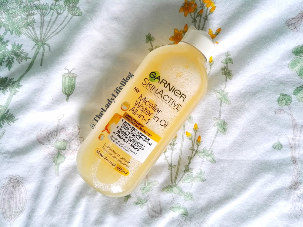 FIRST IMPRESSIONS! Review and Demo: Garnier Micellar Oil-Infused Water