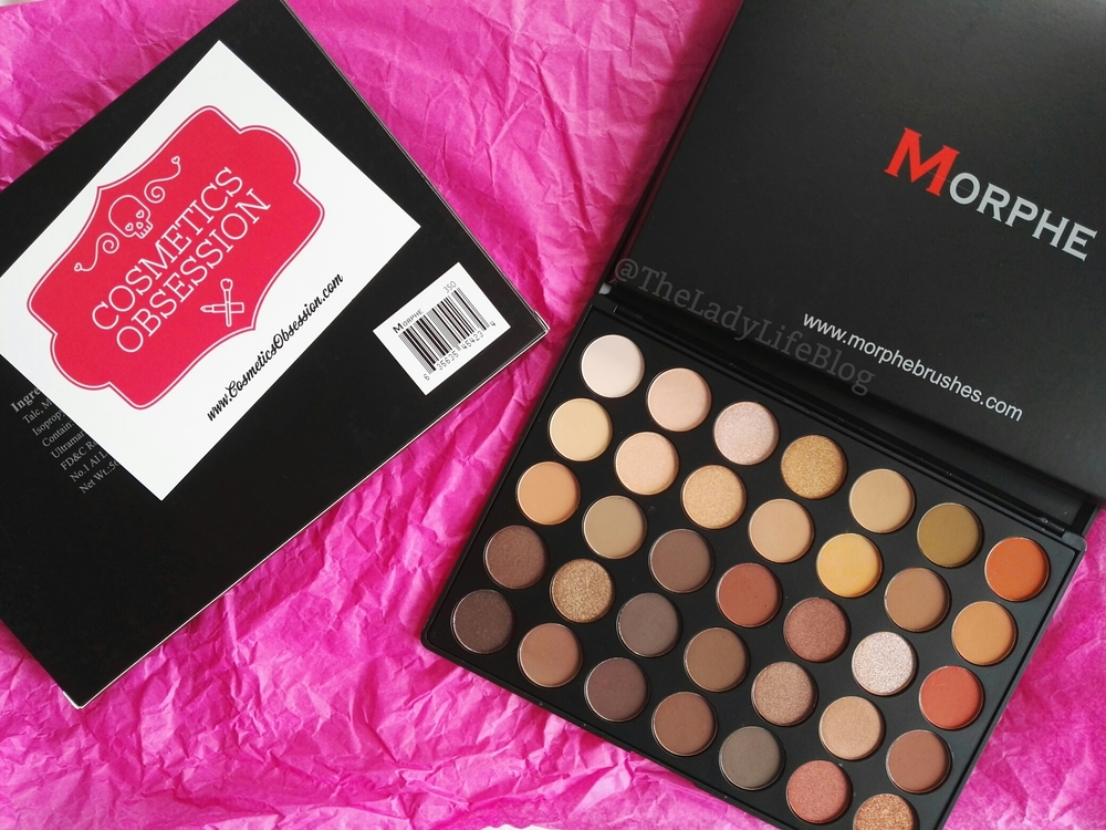 Morphe 35o palette giveaway