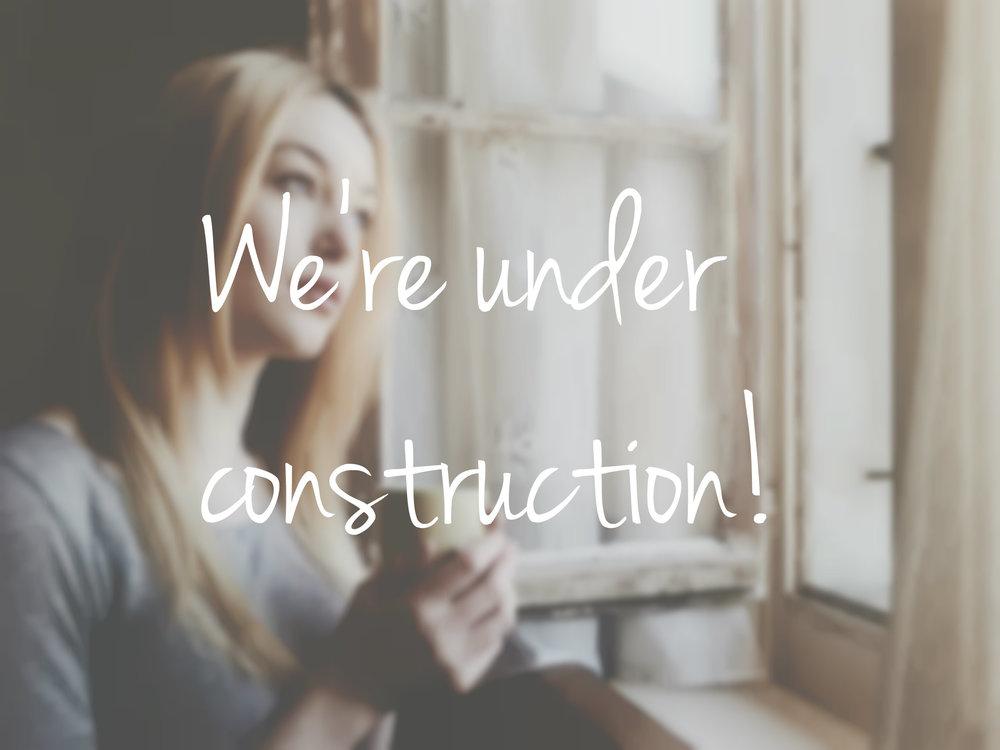 Blog update under construction