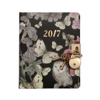 Woodland lockable 2017 diary
