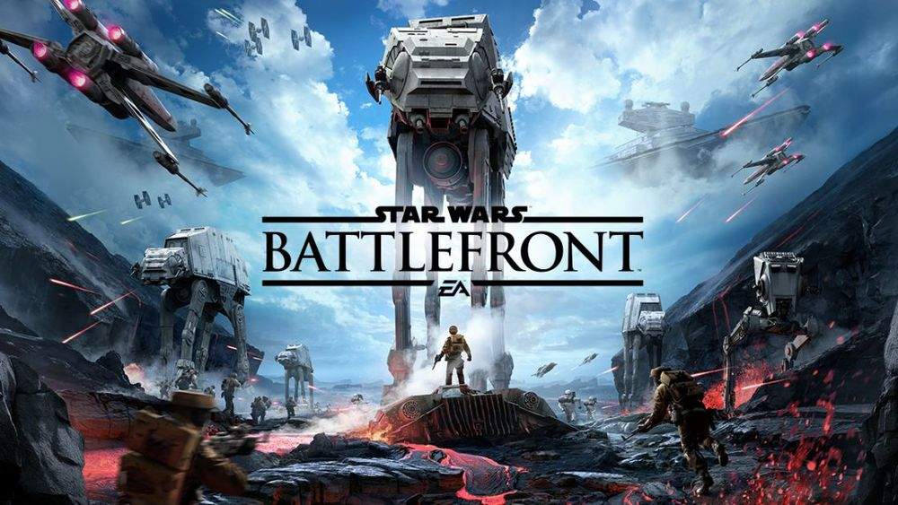 EA FINALLY revealed gameplay from SW Battlefront at their press conference. And it looks good!