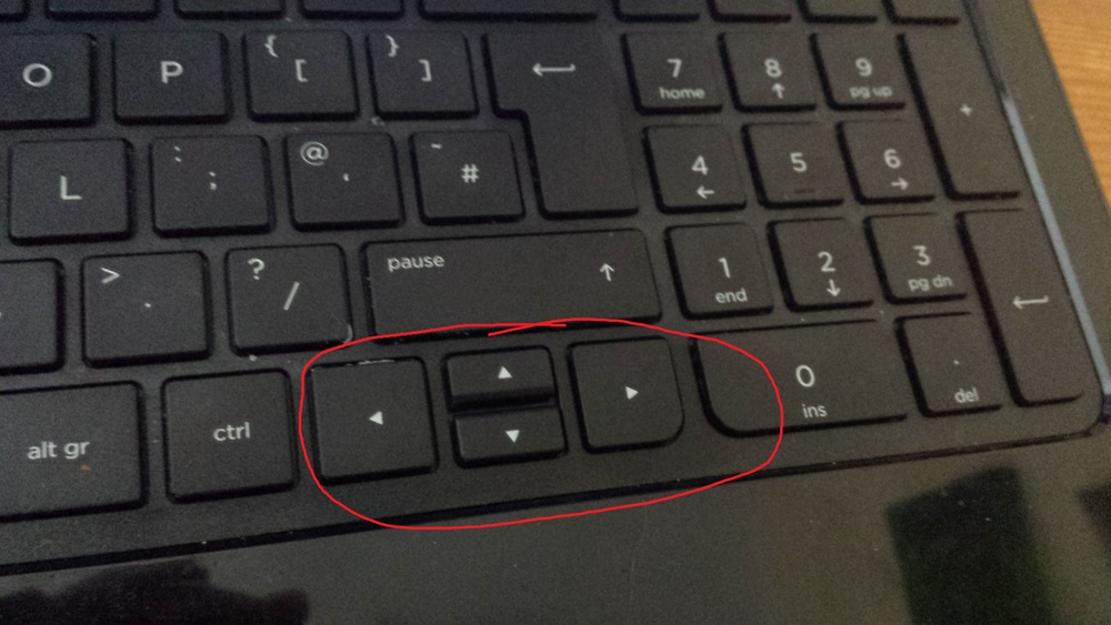 Ewww.. Okay we're definitely going with the WASD keys, then.