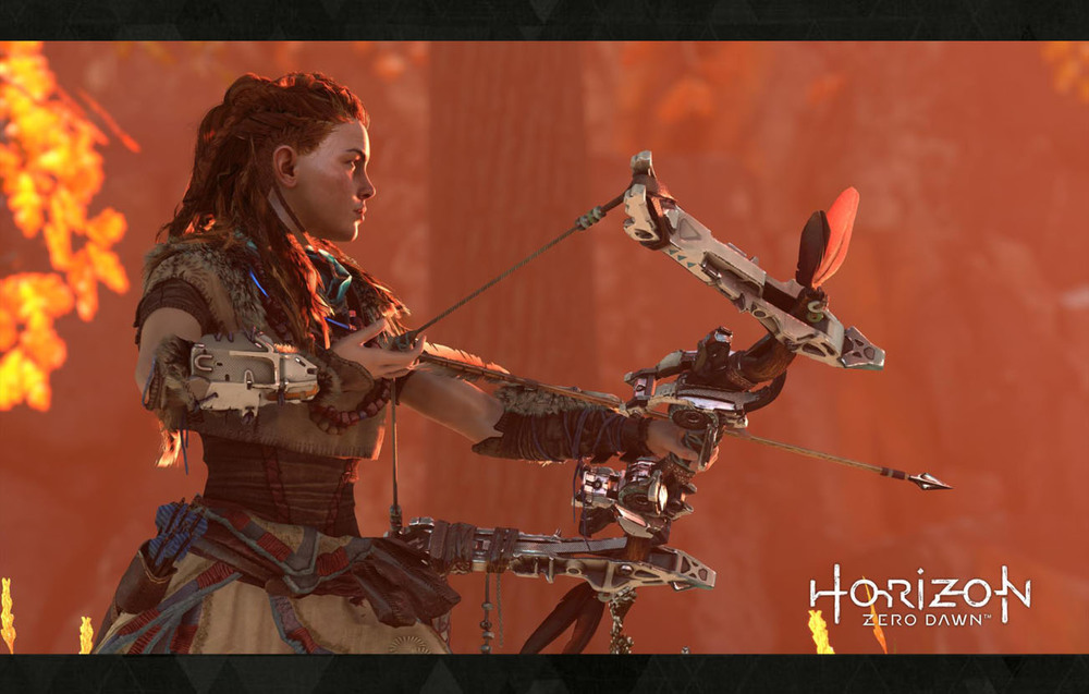 Non-sexualised strong female lead? Check! Look for Horizon Zero Dawn on PS4 in 2016.. wish I had one now..