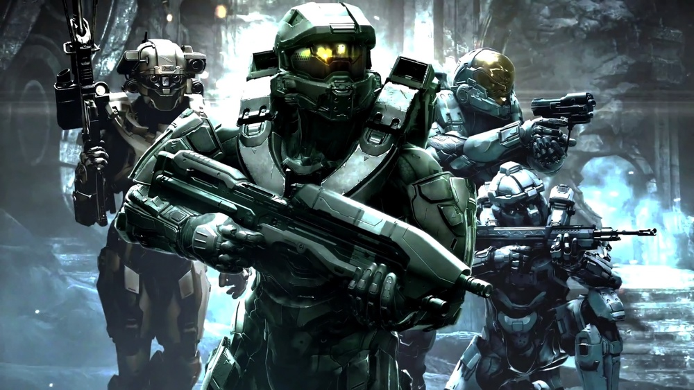 Halo 5. Master Chief is no longer such a lone wolf.