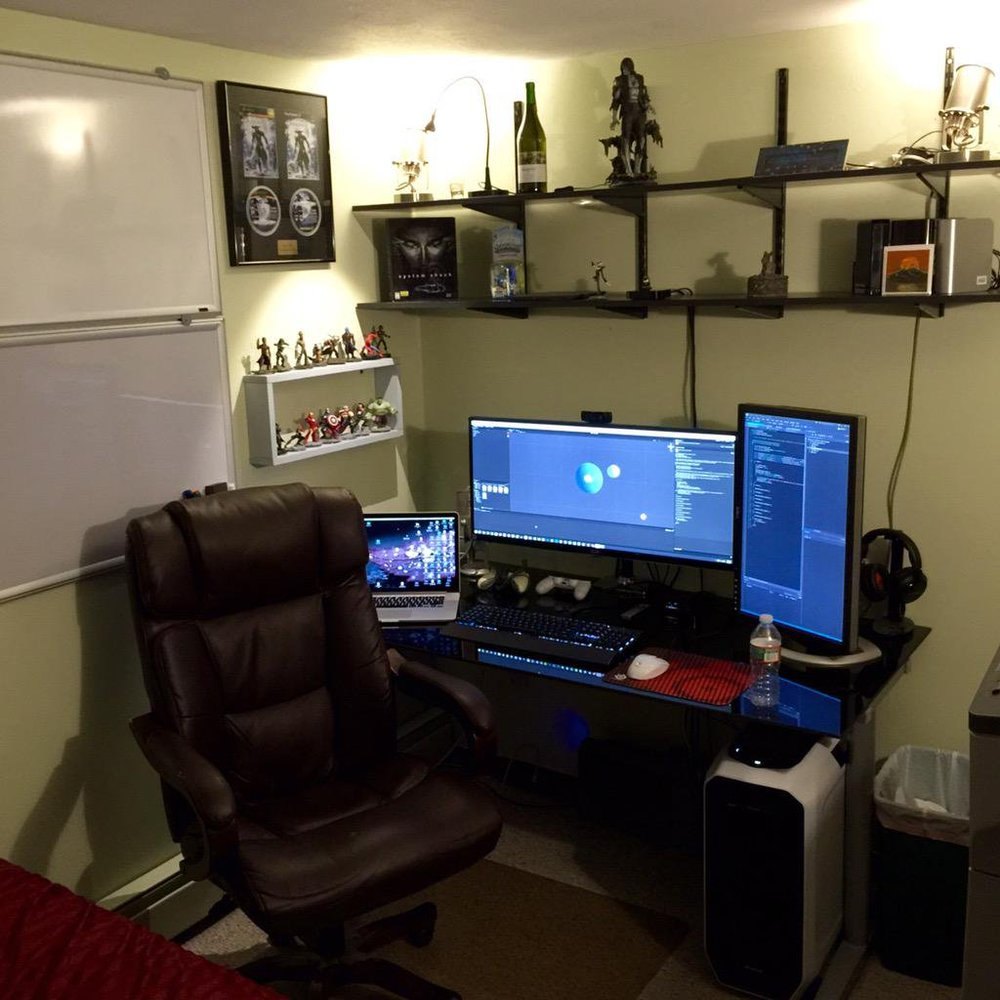 Now that is a nice home office!